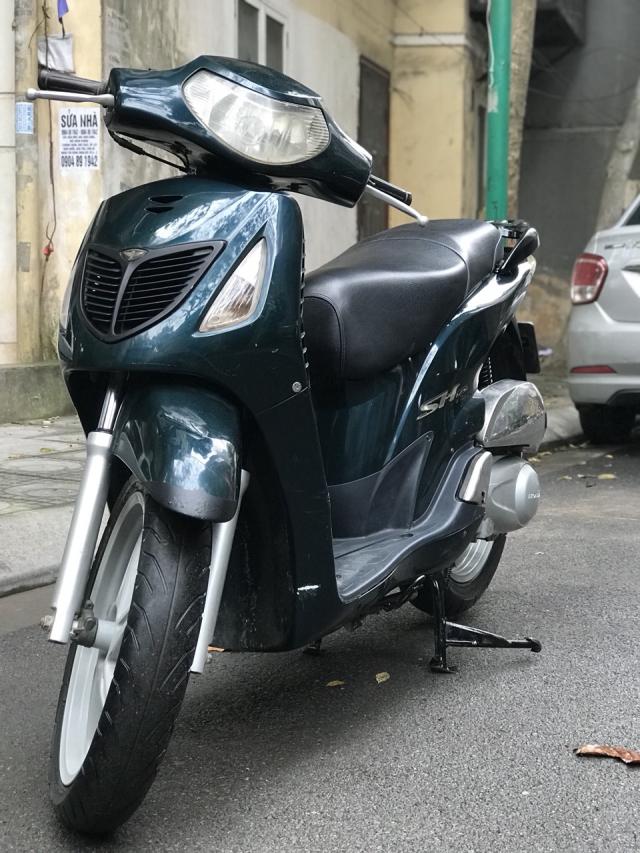 Honda SH mau xanh nhap Y nguyen zin 125 bien HN - 3