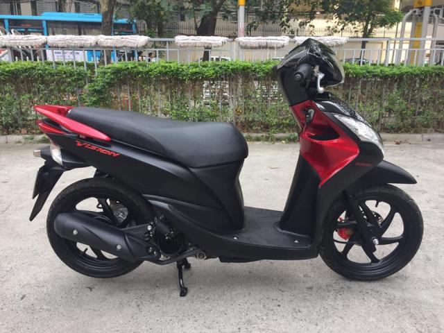 Honda Vision 110cc Fi do den san bien Ha noi - 3