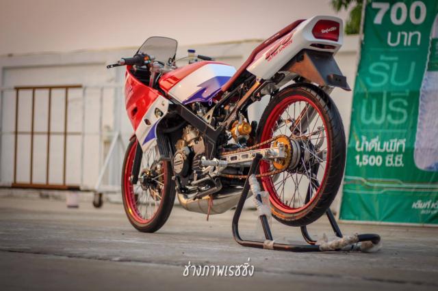 Kawasaki Kips 150 do dan chan mang ve dep kho cuong khoe dang trong nang mai - 7