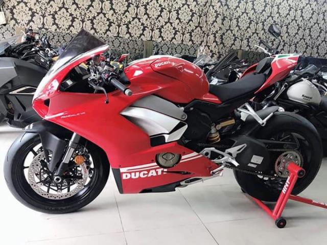Can ban Ducati V4 ABS 122018 odo 2k 1 chu dap thung bien so 5 so SGHQCNsang ten uy quyen tuy thic - 3
