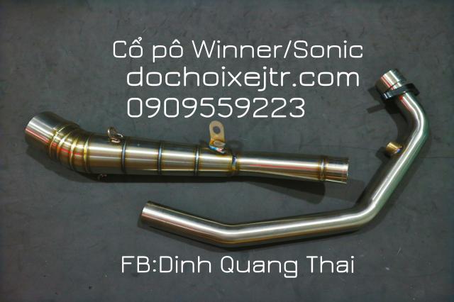 Co po 2 khuc RAIDER Fi Winner Sonic Exciter 135 va 150 - 5