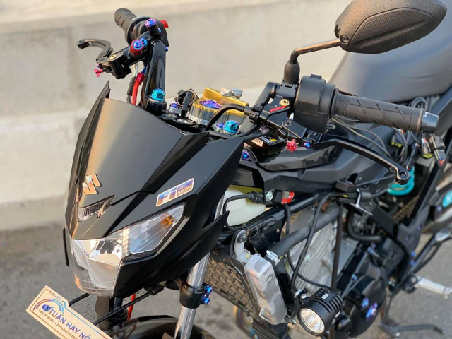 Satria 150 ban do chat luong voi dan combo Galespeed huy diet - 5