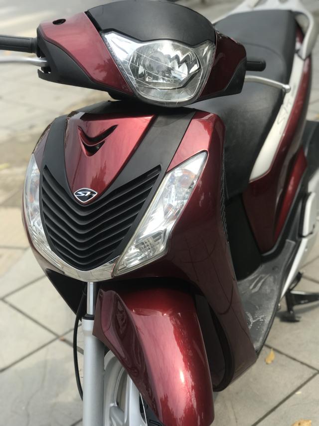 Sh125i mau do xe moi dang ky nam 2012 bien vip - 4