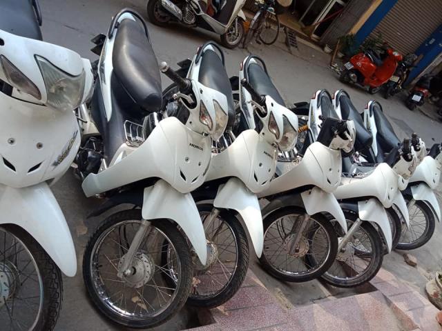 Thanh ly dan wave honda mau trang bao hanh 6 thang - 4