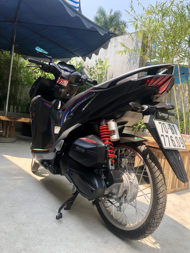 Vario 2018 150cc cua mot Anh chu Banh Trang tai Tay Ninh So huu dan do choi dam chat Indonesia - 4