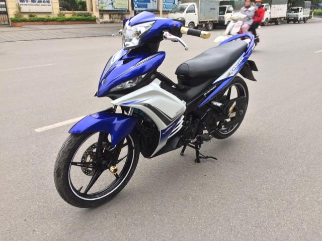 Yamaha Exciter 135cc xanh GP con tay bien HN 2k13 - 3