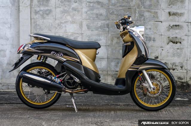 Yamaha Fino do option do choi cao cap khien nguoi xem chet lang - 3