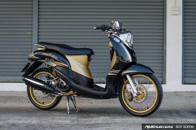 Yamaha Fino do option do choi cao cap khien nguoi xem chet lang - 9