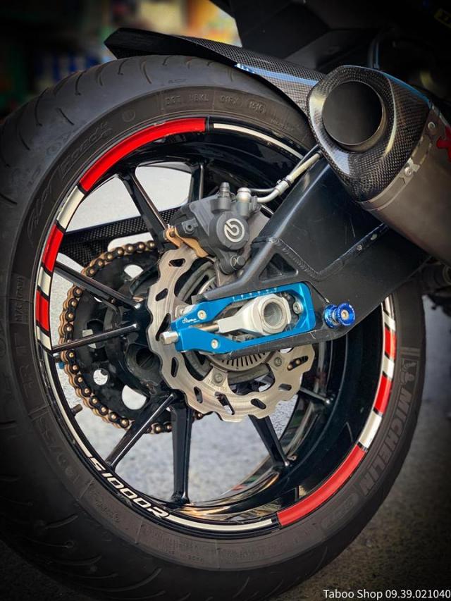 BMW S1000R do full ao Carbon dep me hon cua biker Viet - 10