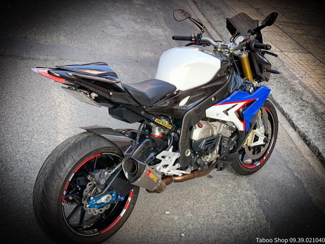 BMW S1000R do full ao Carbon dep me hon cua biker Viet - 12