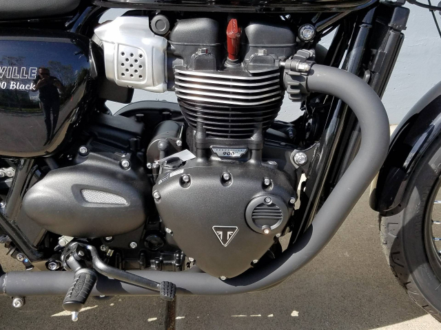 Can ban TRIUMPH BONNEVILLE T100 BLACK 2018 nguyen ban - 2