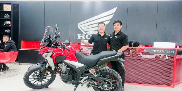 Dap thung Honda CB500X 2019 dau tien ve Viet Nam - 5