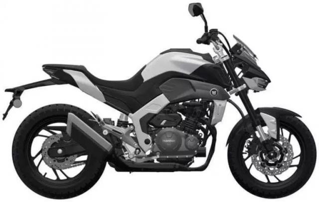 Haojue gioi thieu mo hinh nakedbike trung quoc mang thiet ke tuong tu Yamaha MT09 - 3