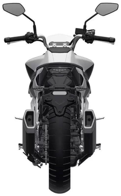 Haojue gioi thieu mo hinh nakedbike trung quoc mang thiet ke tuong tu Yamaha MT09 - 5