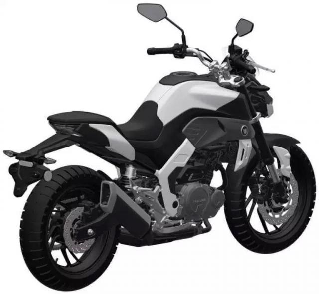 Haojue gioi thieu mo hinh nakedbike trung quoc mang thiet ke tuong tu Yamaha MT09 - 9