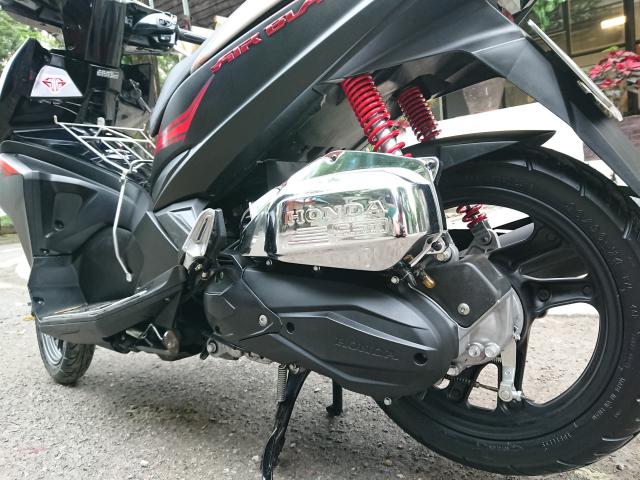 Honda Airblade fi 2016 den led Black den mo chinh chu cuc moi