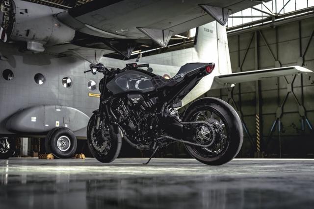 Honda CB1000R do phong cach RAPTOR Su pha tron hien dai va co dien hoan hao - 4
