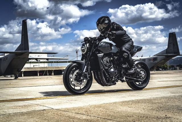 Honda CB1000R do phong cach RAPTOR Su pha tron hien dai va co dien hoan hao - 6