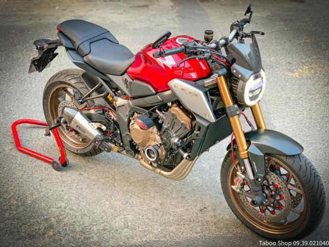 Honda CB650R do nhe theo phong cach chay pho cua Biker Viet - 3