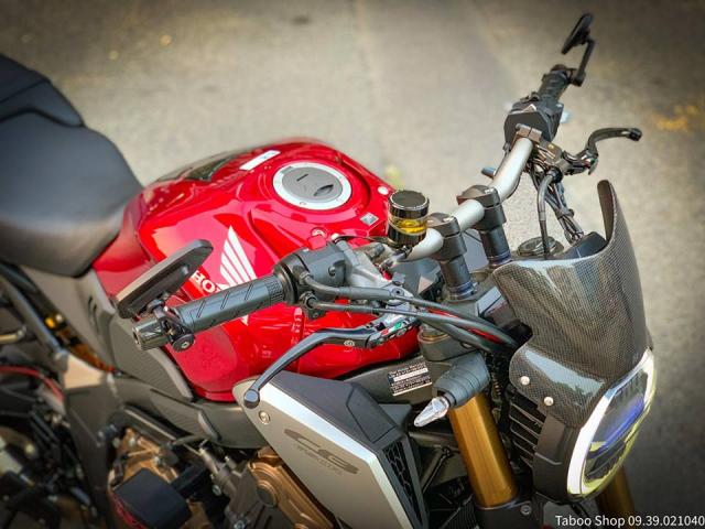 Honda CB650R do nhe theo phong cach chay pho cua Biker Viet - 5