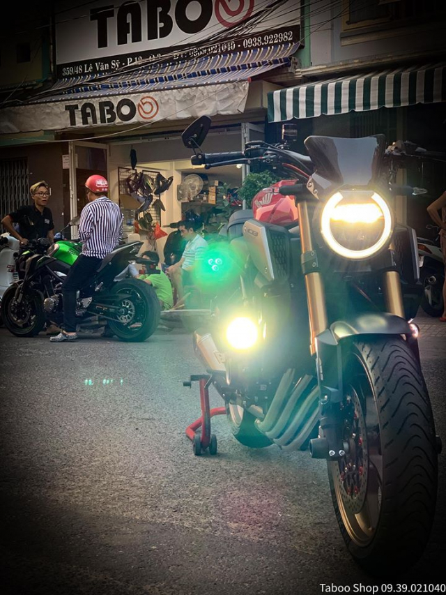 Honda CB650R do nhe theo phong cach chay pho cua Biker Viet - 7