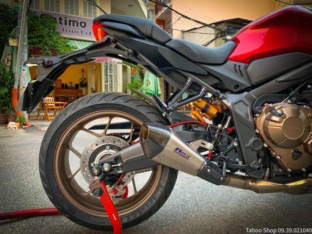 Honda CB650R do nhe theo phong cach chay pho cua Biker Viet - 13