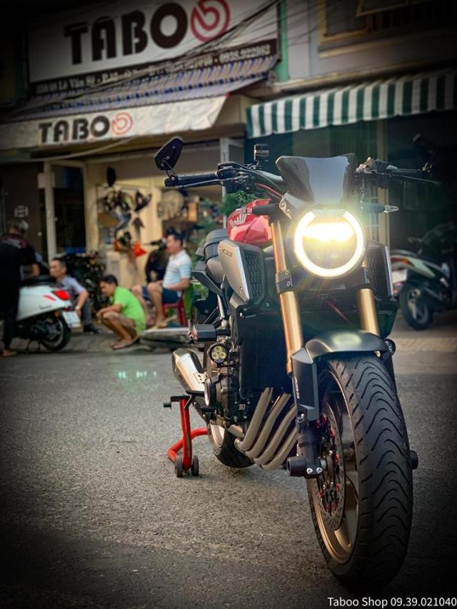 Honda CB650R do nhe theo phong cach chay pho cua Biker Viet - 15