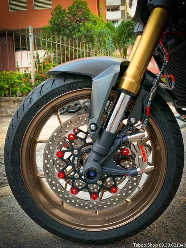 Honda CB650R do nhe theo phong cach chay pho cua Biker Viet - 21