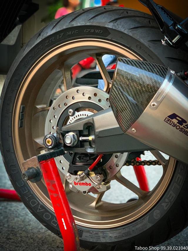 Honda CB650R do nhe theo phong cach chay pho cua Biker Viet - 27