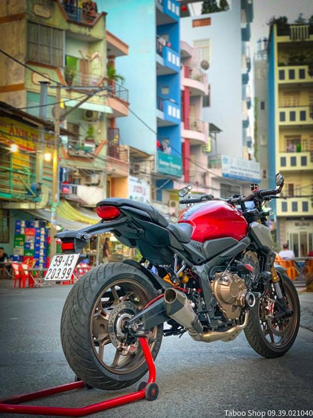 Honda CB650R do nhe theo phong cach chay pho cua Biker Viet - 29