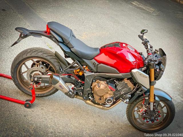 Honda CB650R do nhe theo phong cach chay pho cua Biker Viet - 31