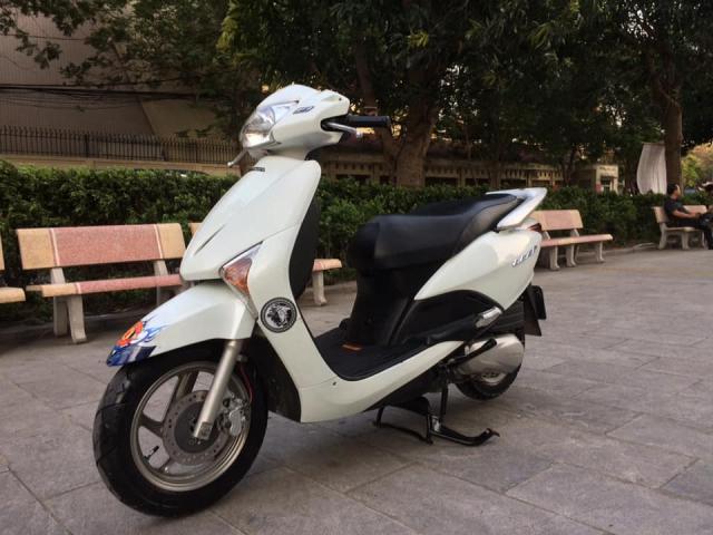 Honda Lead Fi mau trang bien Ha noi nguyen ban - 2