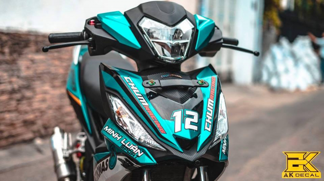 Honda Winner don dep va nang cap may tai Minh Luan Sport - 3
