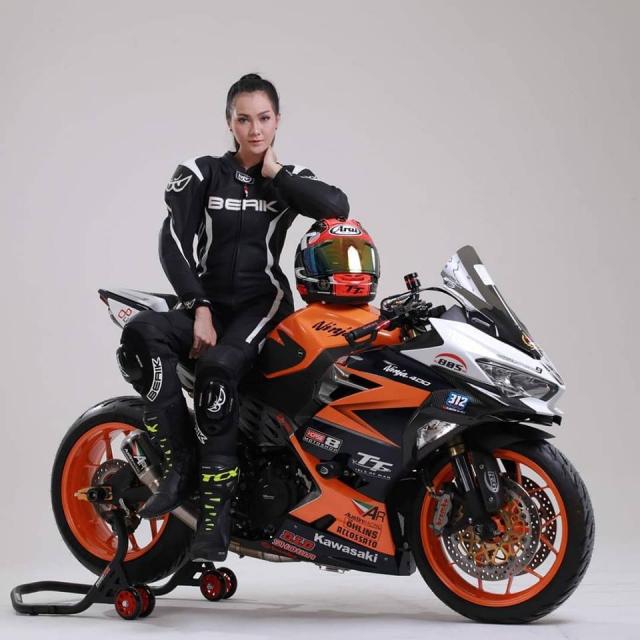 Kawasaki Ninja 250 do cuc khung voi cau hinh duong dua - 11