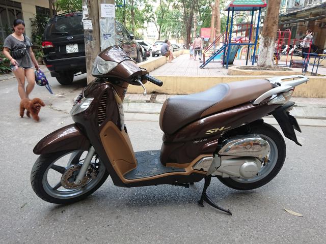 Rao ban Honda SH 150i nau 2OO9 nguyen ban su dung 61tr - 3
