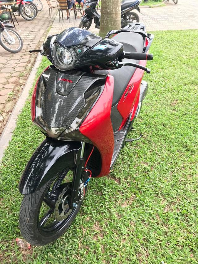 SH150i do full kieng day loi cuon cua tay choi xe Ha Noi - 3
