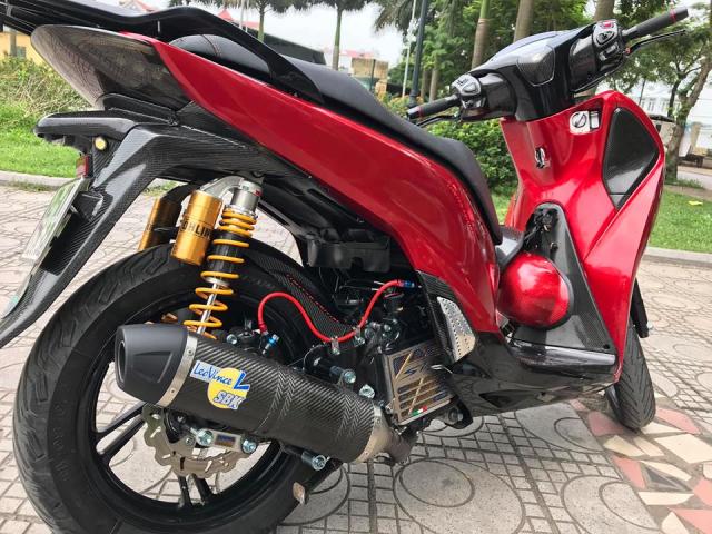 SH150i do full kieng day loi cuon cua tay choi xe Ha Noi - 5