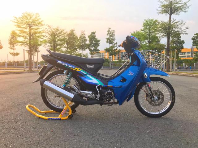 Wave Nho S100 Xanh Den - 9