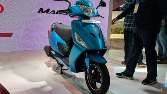 Maestro Edge 125 2019 doi thu Honda LEAD vua ra mat voi gia gan 18 trieu Dong - 3