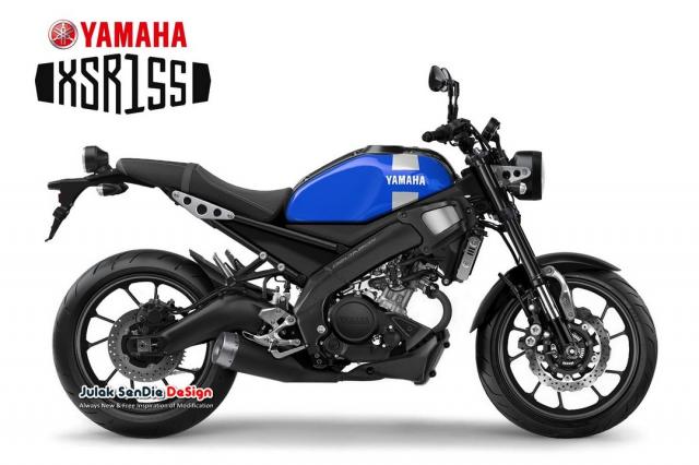 XSR155 2019 duoc Yamaha tiet lo chuan bi ra mat trong thoi gian toi - 3