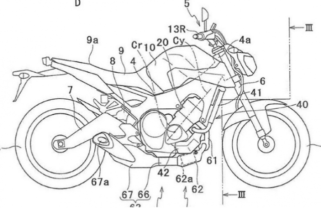 Yamaha MT09 lo dien bang thiet ke dong co Turbo hoan toan moi - 3