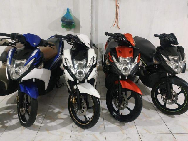 Yamaha Nouvo SX Dang ki 2014 Xe con moi may nguyen ban