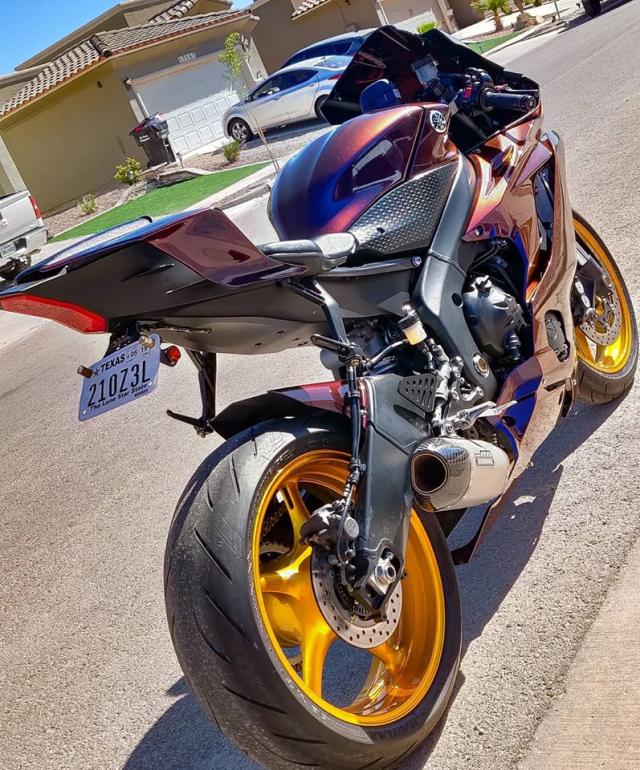 Yamaha R6 do thuyet phuc voi body doi mau day chat choi - 5