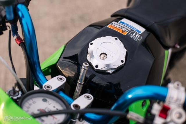 Kawasaki KSR 110 do tuyet dinh voi dan chan dep ma mi - 7