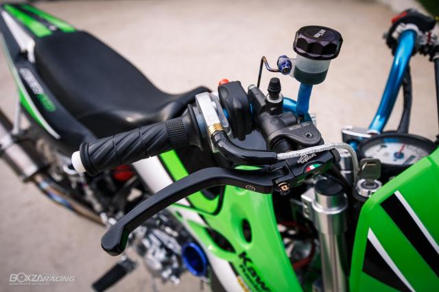 Kawasaki KSR 110 do tuyet dinh voi dan chan dep ma mi - 5
