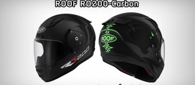 Ra mat ROOF RO200 Carbon Mu bao hiem hoan chinh nhe nhat the gioi