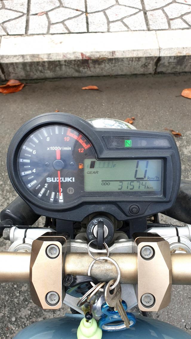 Ban Suzuki Thunder 150S Doi 2 cua Suen 150 da do nhu hinh - 2