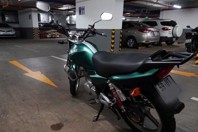 can nhuong lai xe Suzuki En150 Odo 21k