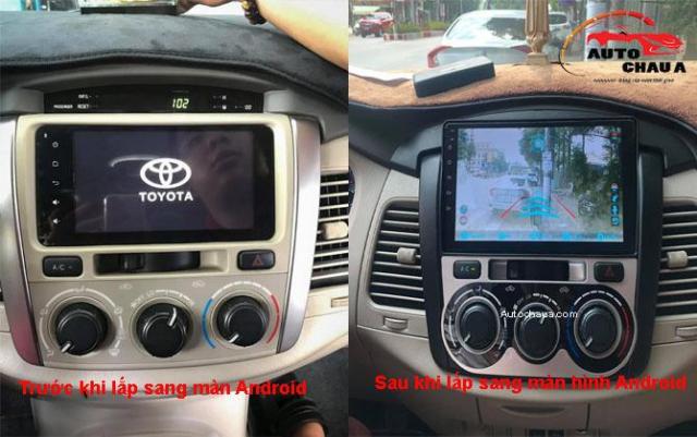 Man Hinh Android Cho Xe Innova Toyota - 2