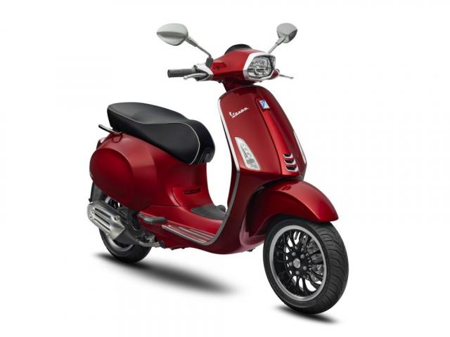 Piaggio ra mat Vespa Primavera Sprint voi mau moi cuc ki thanh lich - 4